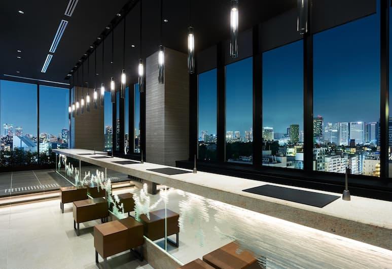五反田三井花園飯店, 東京, 櫃台