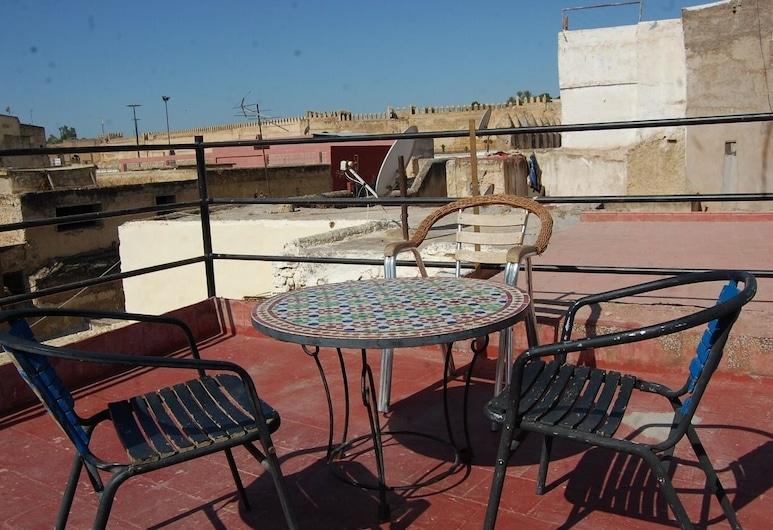Downtown Hostel Fez - Hostel, Фес, Терраса/ патио