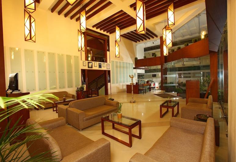 Grand Plaza Munnar, Devikolam, Sala de estar en el lobby