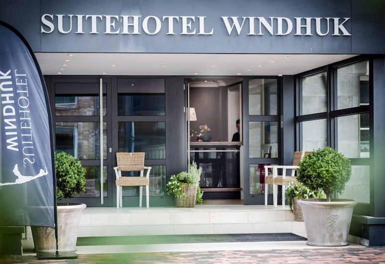 سويت هوتل ويندوك, Sylt, واجهة الفندق