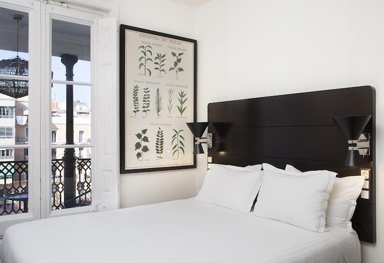 호텔 프락티크 가든, 바르셀로나, 슈피리어 더블룸 또는 트윈룸, 더블침대 1개 또는 싱글침대 2개, 객실