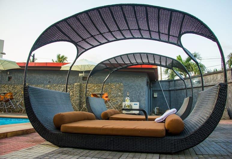 棕櫚景觀莊園飯店, 拉各斯, 露台
