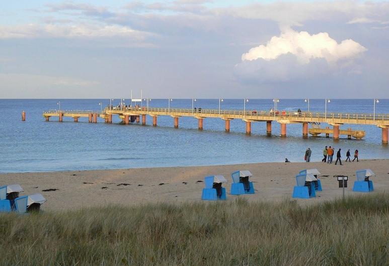 Vacaciones en el mar Báltico con Vistas al mar en una Ubicación Privilegiada en Göhren en Rügen, Göhren, Playa