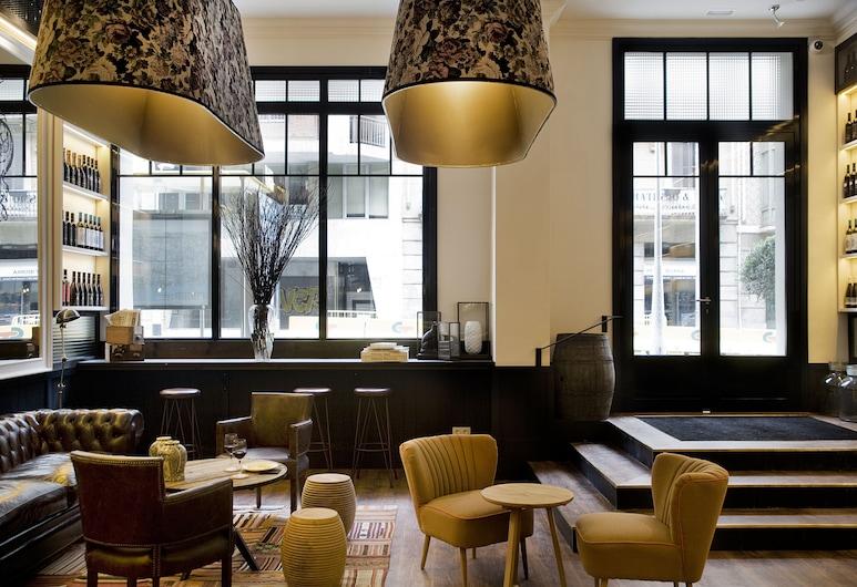 Hotel Praktik Vinoteca, Barcelona, Lounge i lobbyn
