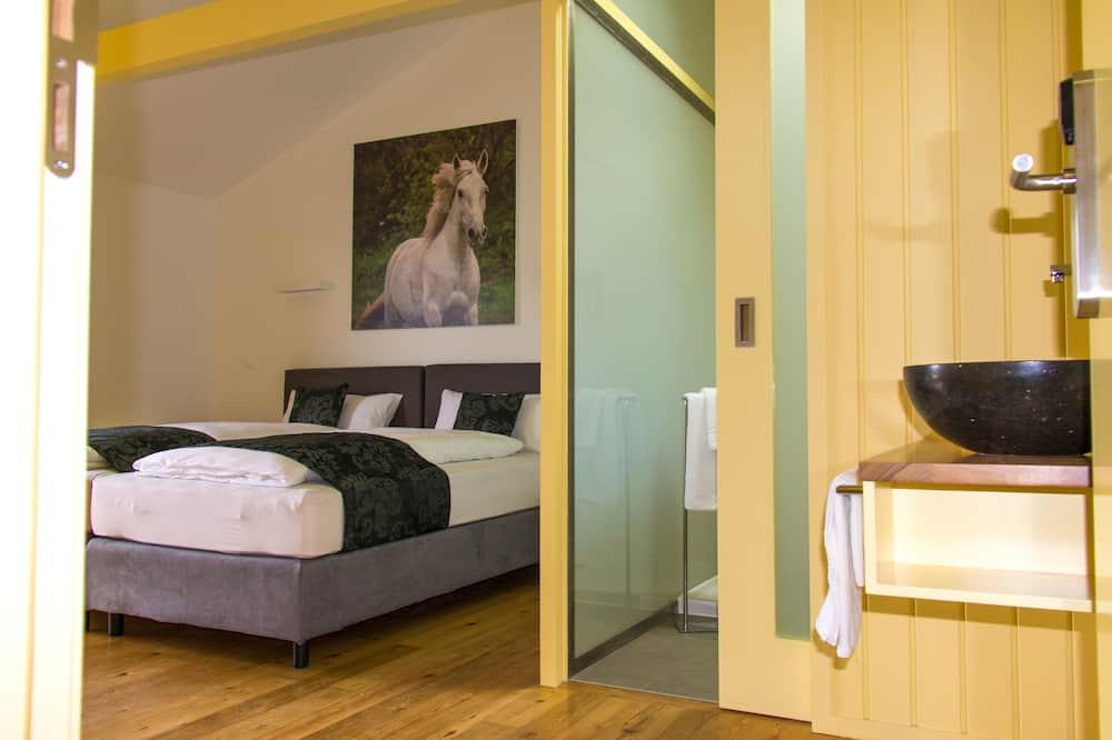 Dvojlôžková izba typu Comfort, výhľad na oceán, s výhľadom do záhrady - Obývacie priestory