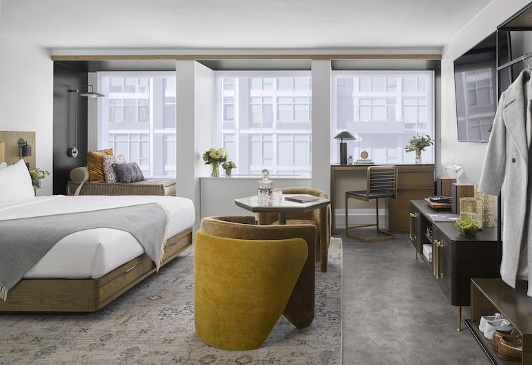 Yours Truly DC, Washington, Premium soba, 1 king size krevet, pristup za osobe s invalidnošću (New), Soba za goste