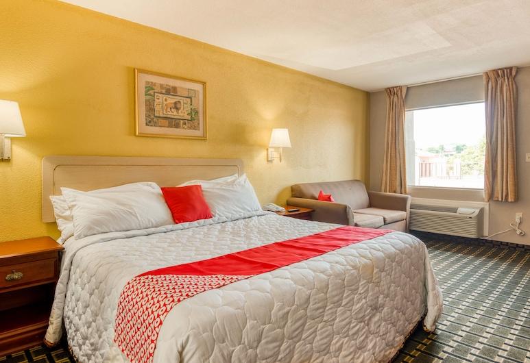OYO Hotel Vicksburg Southeast, Vicksburg, Habitación, 1 cama de matrimonio grande, Habitación