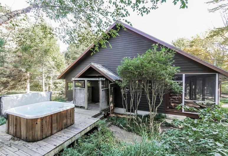 Birch Cottage, Douglas, Deluxe-Ferienhaus, 4Schlafzimmer, Whirlpool, Außen-Whirlpool