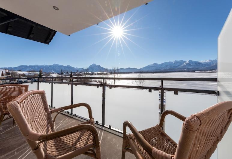 Unique and Fantastic Panoramic View, App. 2, Fuessen, Balcony