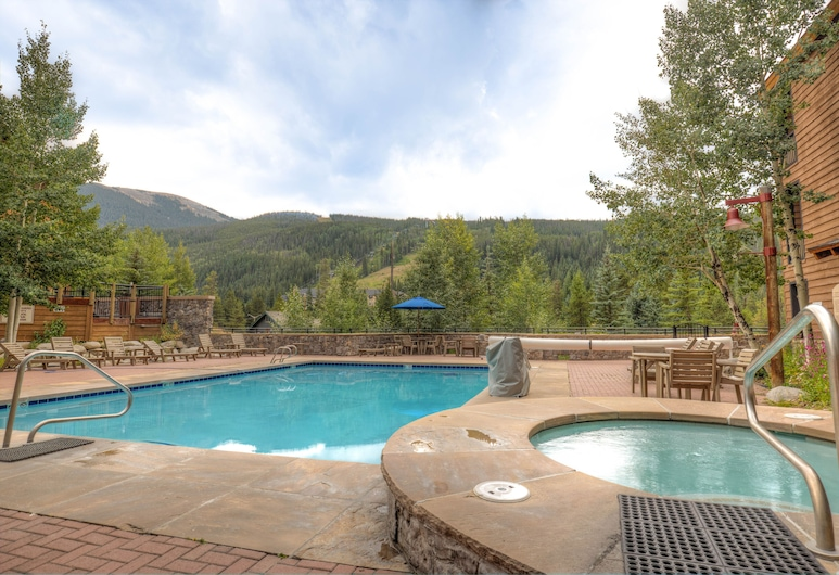 River Run Condo, Updated Kitchen, King Bed, Village Views, Free Wifi, Keystone, Sundlaug