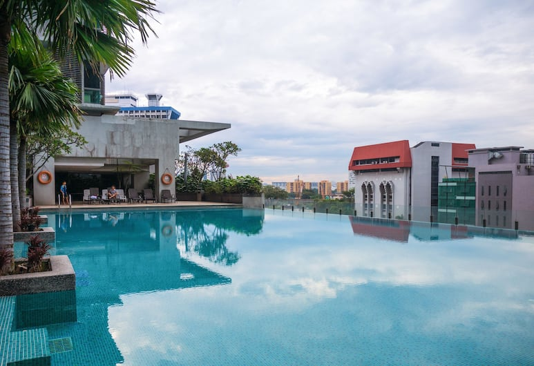 瓦拉斯 P 留守假期飯店, 吉隆坡, 無邊際泳池