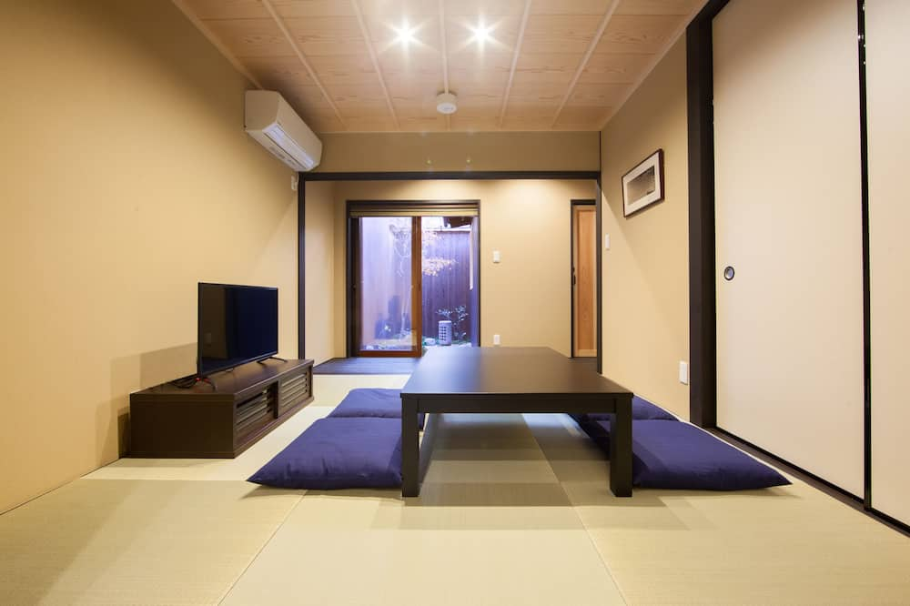 Japanese Town Style House - Living Room
