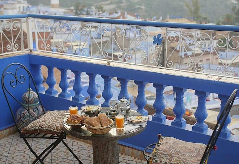 Dar Aldea, Chefchaouen, Restaurang utomhus