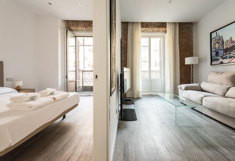 Puerta del Sol City Center, Madrid, Apartment, 2 Bedrooms, Living Room