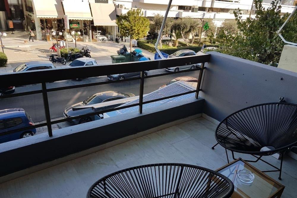 Apartamentai, 2 miegamieji - Balkonas