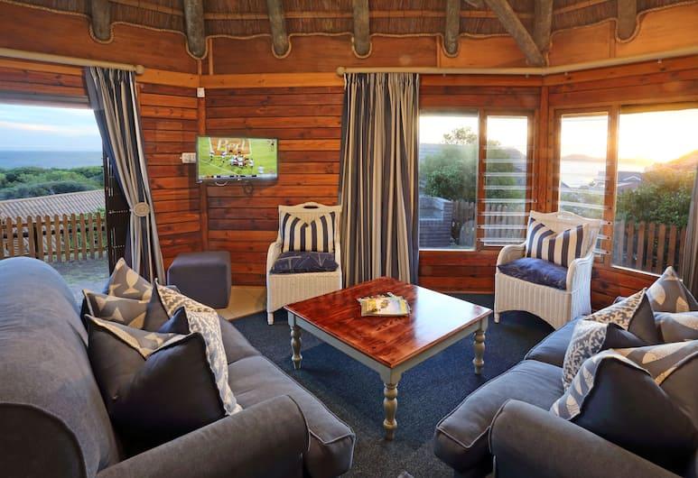 Brenton On Sea Cottages, Knysna, Sea View Chalet A 19 (2 or 3 people), Living Room