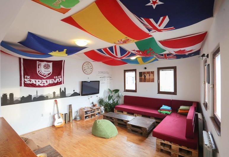 Haris Youth Hostel, Sarajevo, Lounge i lobby