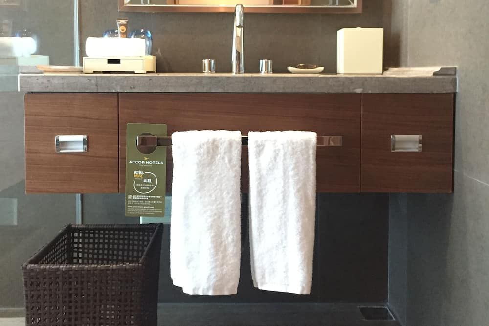 Superior-Suite, 1King-Bett - Badezimmer