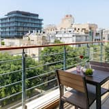 Deluxe Apartment, 2 Bedrooms, Sea View - Balkoni