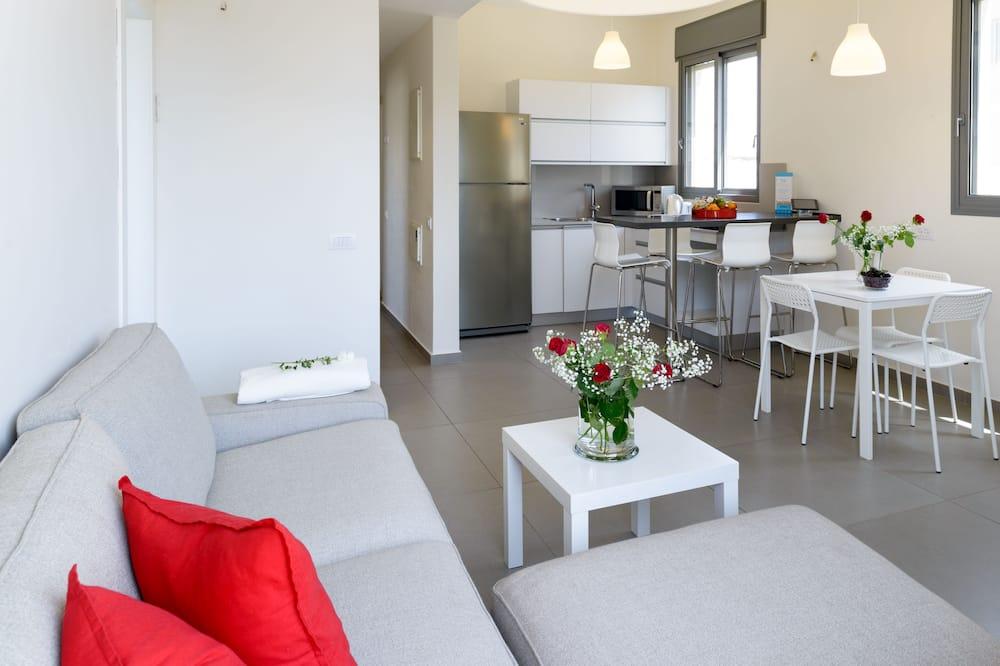 Deluxe Apartment, 2 Bedrooms, Sea View - Bilik Rehat