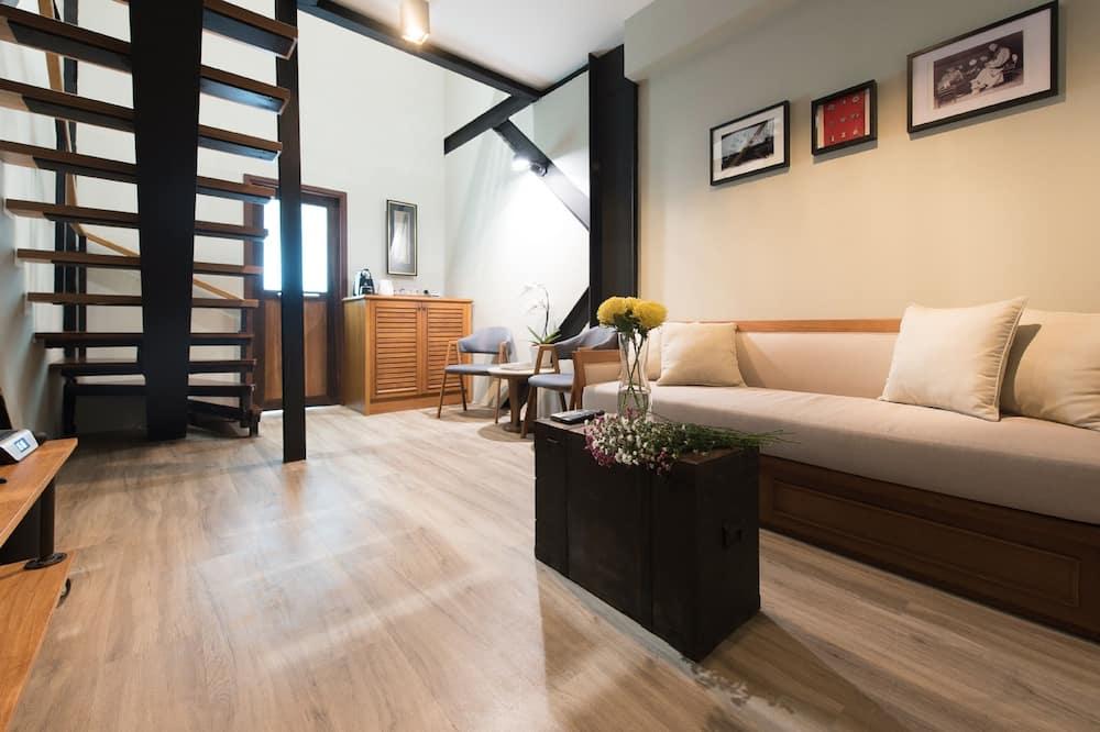 Duplex King Suite  - Living Area