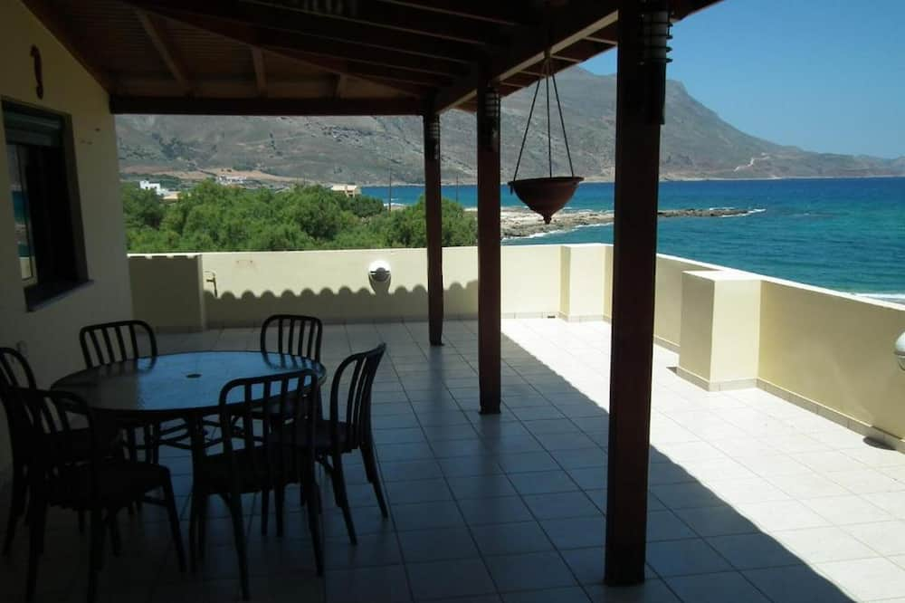 Superior Apartment, Top Floor with Panoramic Sea View and Terrace - Балкон