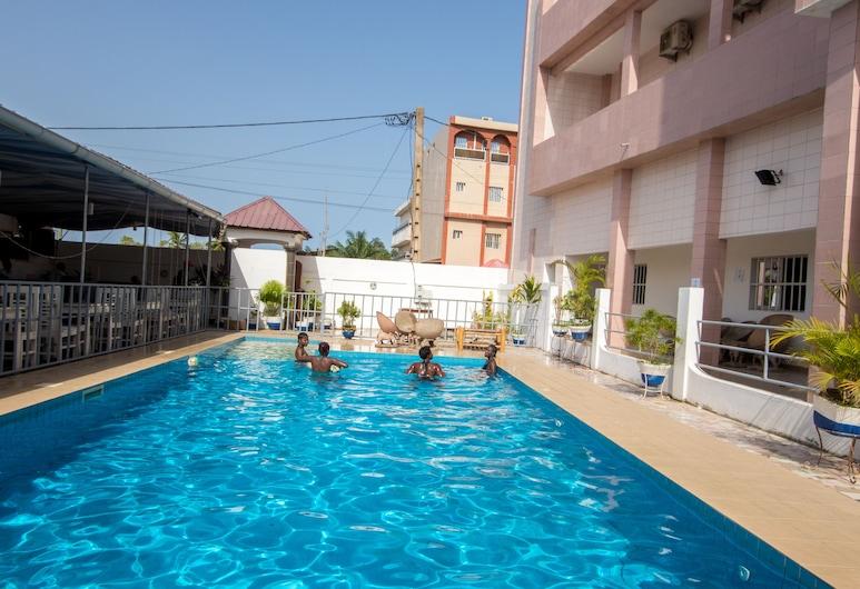 Jeane's Appart Hotel, Lome, Piscina all'aperto