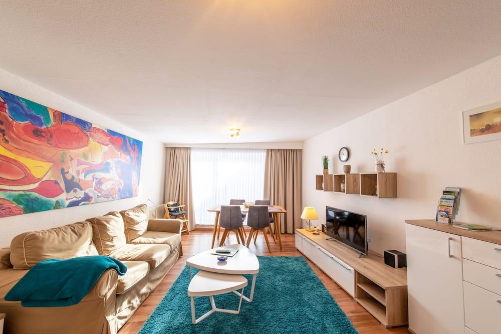 Byt typu Comfort, 1 extra veľké dvojlôžko (5) - Obývacie priestory