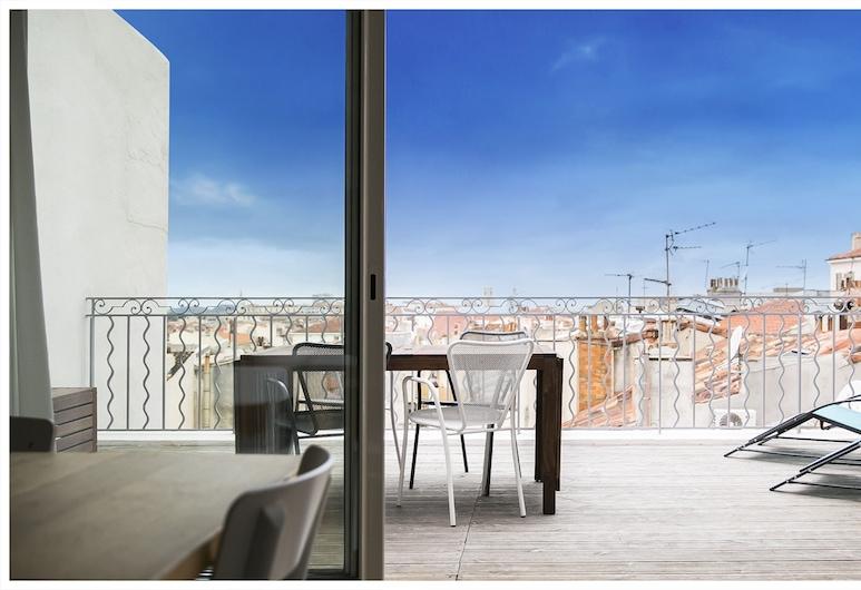 Urban Loft Marseille, Marsilya, Apart Daire, 2 Yatak Odası, Teras, Teras/Veranda
