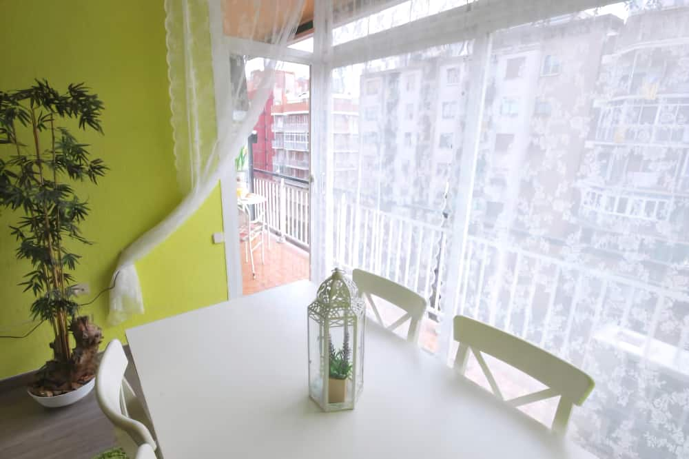 Apartmán, 3 spálne, balkón - Stravovanie v izbe