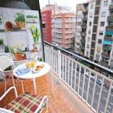 Apartmán, 3 spálne, balkón - Balkón