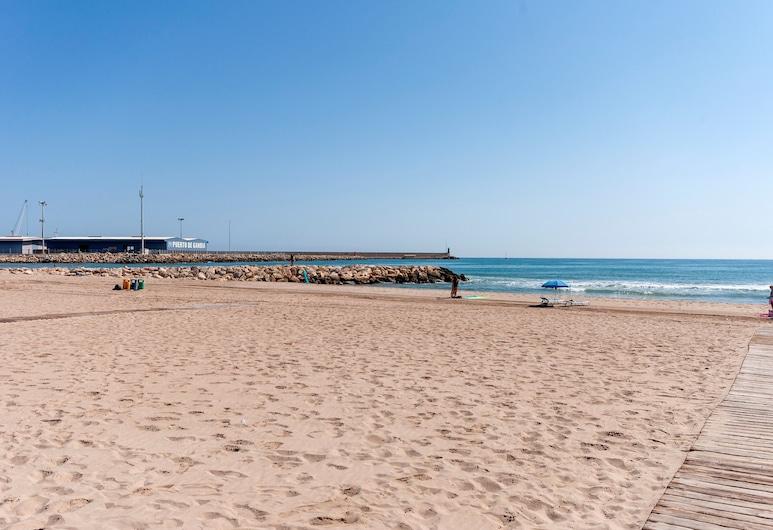 塞雷索酒店, Gandia, 海灘