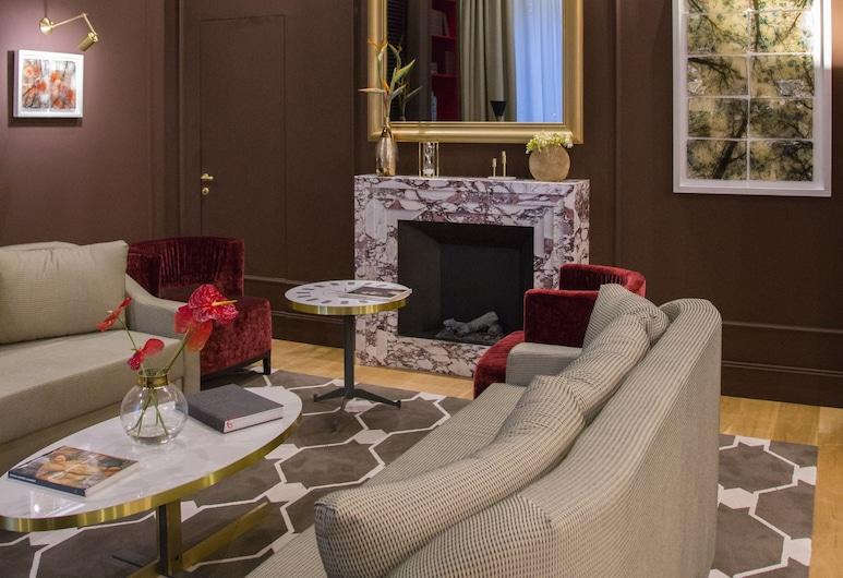 エリザベス ユニーク ホテル - メンバーズ オブ デザイン ホテルズ, ローマ, ロビー応接スペース