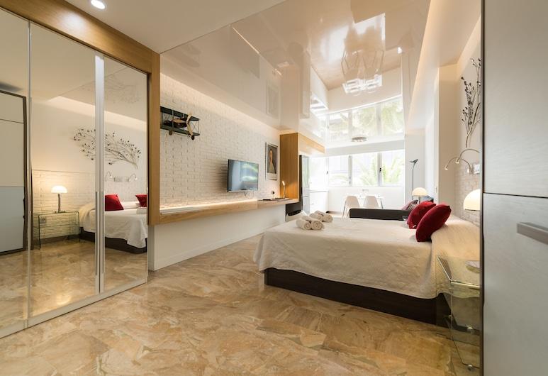 Suites Garden 5 Loft Munch, Las Palmas de Gran Canaria, Ärkliruum, 1 magamistoaga, Tuba