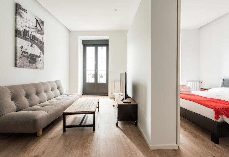 Puerta de Toledo City Center 1C, Madrid, Apartment, 2Schlafzimmer, Balkon, Wohnbereich