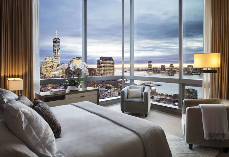 The Dominick, New York, Rom, 1 kingsize-seng, utsikt (Skyline), Hotellet innvendig
