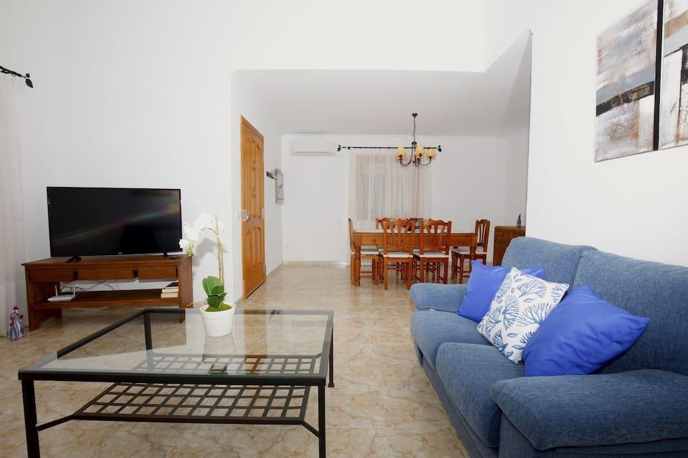 Hus - 3 soveværelser - terrasse - Stue