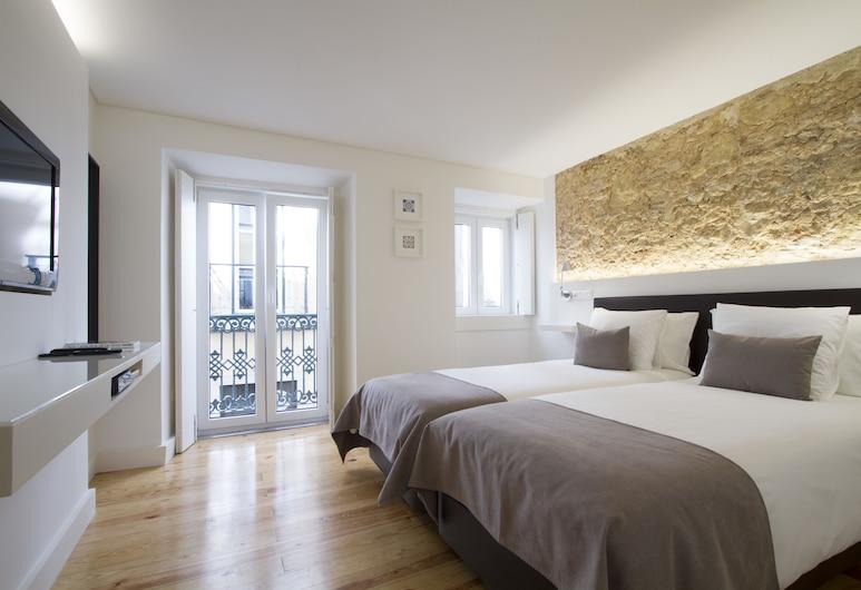 Boutique Flat Cris do Carmo, Lisbonne, Appartement, 1 chambre, Chambre