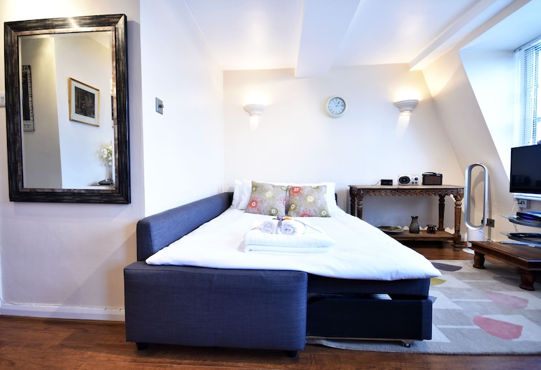 Cosy flat in South Kensington for 4 persons, Londýn, Apartmán typu Comfort, 1 ložnice, Pokoj