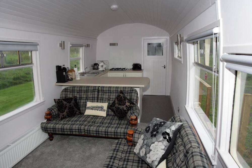 Ferienhütte - Wohnbereich