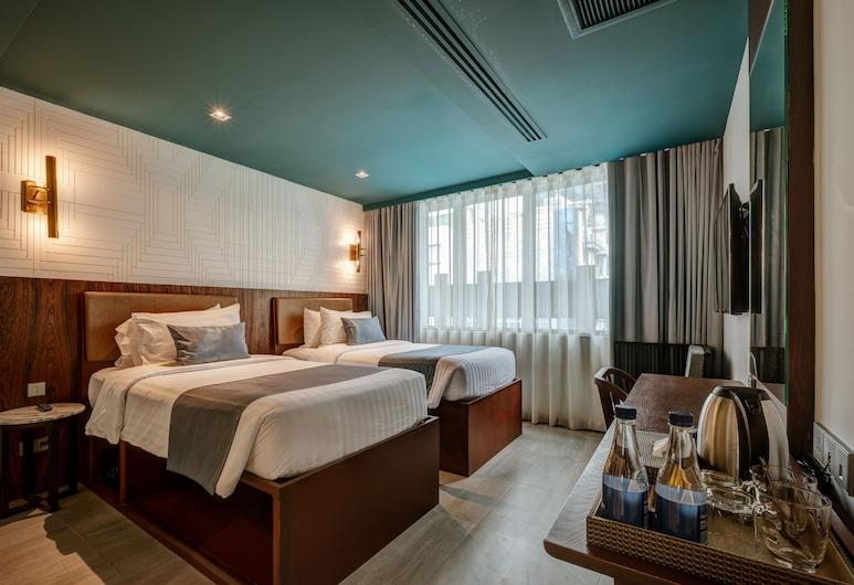 십 카오, 방콕, 디럭스 트윈룸, 객실