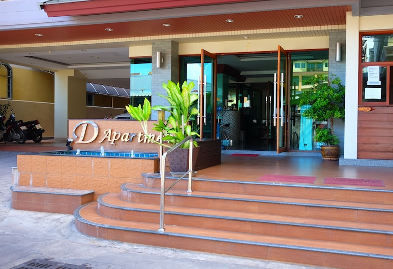 D Apartment 2, Pattaya, Hotel Front