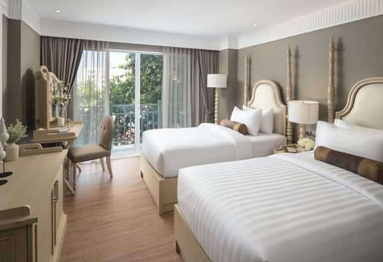 カサ ビマヤ リバーサイド, バンコク, Riverside Deluxe Twin Room , 客室からの眺望