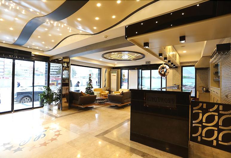 Life Corner Hotel, Izmir, Priestory na sedenie v hale
