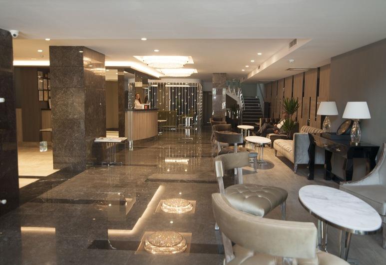 Yeni Bahar Otel, Ankara, Sitteområde i lobbyen