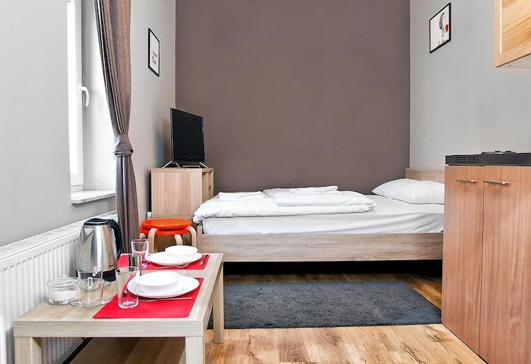 Smart Apart-Hotel , Kraków, Studio Economy, Łóżko queen, Pokój