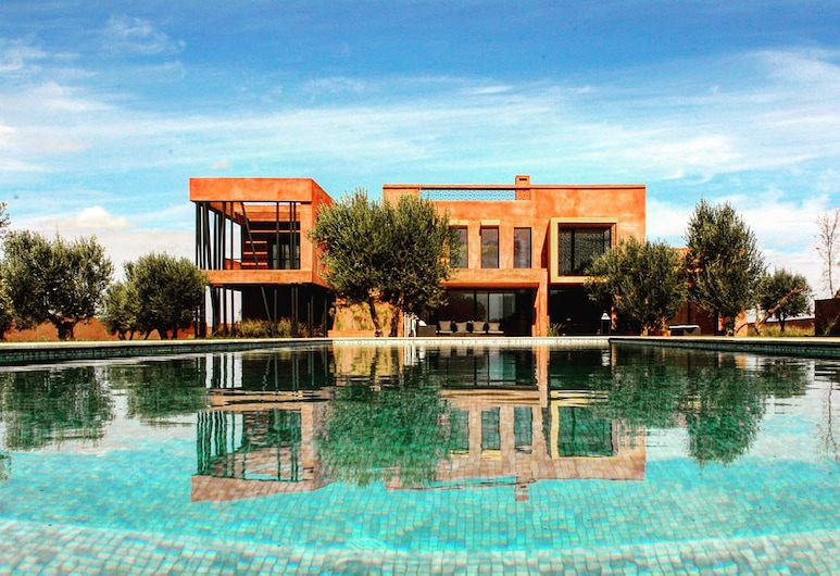 Villa Kristy, Tameslouht, Venkovní bazén