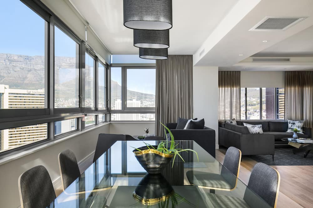 Penthouse, 3Schlafzimmer - Wohnbereich