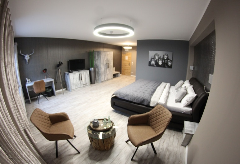 Vitalounge Hotel, Gelzenkirhene, Komforta divvietīgs numurs, 1 divguļamā karalienes gulta, Viesu numurs
