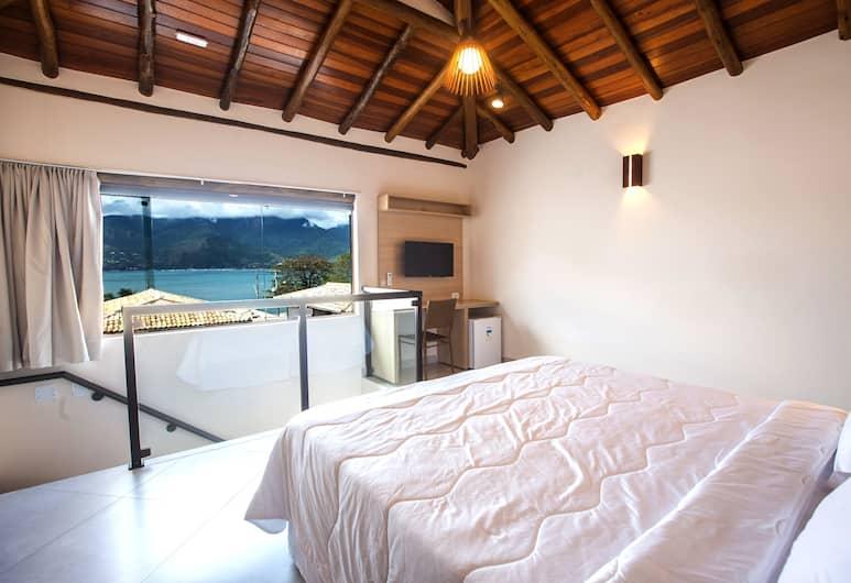 Abricó Beach Hotel, Sao Sebastiao, Premium suite, Uitzicht op zee, Kamer